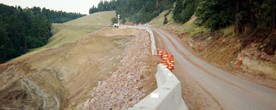 Wyoming - Highway 14 Slide Repair